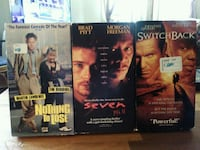 four assorted DVD movie cases Conroe, 77301