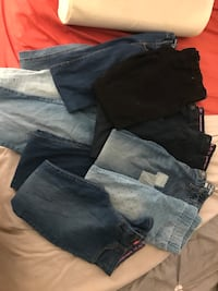 Size 12 girls jeans lot