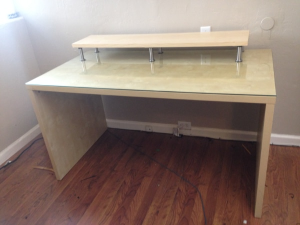 Ikea Mikael Desk With Monitor Stand