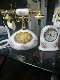 Phone and clock set Brampton