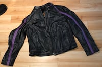New women's motorcycle jacket.