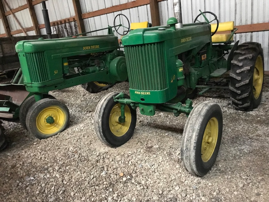 Photo Wide front 40 John deere