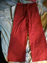 red womens scrub pants Wyandotte, 48192