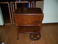 tea cart from the John Sevier Hotel 1924 KNOXVILLE
