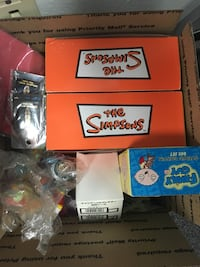 The Simpson's tv show memorabilia Fox new toys figures glasses and more! San Clemente, 92673