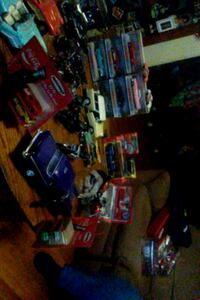 My collection 34 diecast cars and 6 more bikes and