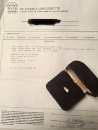 14kt Yellow Gold Solitaire Diamond Ring Calgary, T2L 2K8