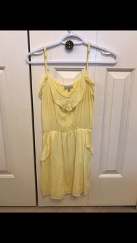 Yellow Talula dress from aritzia  Coquitlam, V3E 2V5