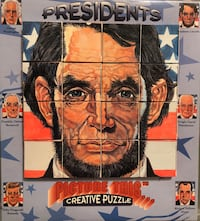 "Presidents, ""Picture This Creative Puzzle"" (1996) Brandon, 39042"