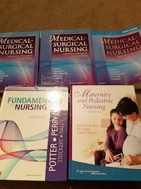 Nursing school text books  Marlborough, 01752