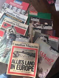 Magazines from60's and 70's Sherwood Park, T8A