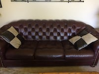 leather couch Langley Township