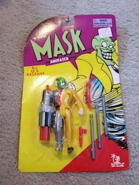 1997 The Mask cyborg action figure Beech Grove