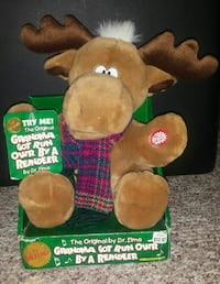 Singing Stuffed Reindeer $6 Highland