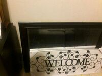 Large heavy wall mirror and large welcome sign Denver, 80249