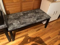 rectangular gray marble top coffee table Chicago, 60616