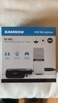 Samson USB Microphone w/Software Kensington, 20895
