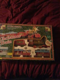 Christmas Train battery operated scale model box Hughesville, 17737
