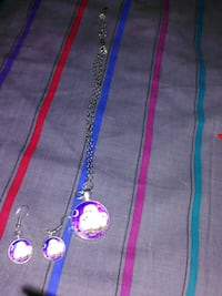 Women's Owl Necklace And Earrings Omaha