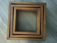 square brown wooden photo frame Winnipeg, R3L 2R7