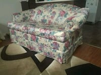 white and multicolored floral fabric sofa Waterloo Regional Municipality