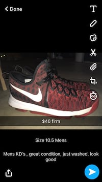 Mens KD's Basketball Shoes  Crest Hill, 60403