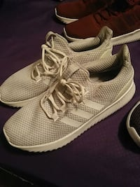 pair of gray Adidas running shoes Little Rock, 72211