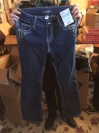 New Girls size 12 jeweled jeans Omaha, 68137