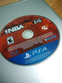 PS4 NBA 2K14 Game Surrey, V3R 1T1