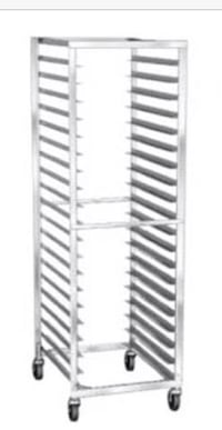 gray rolling display rack Crossville, 35962