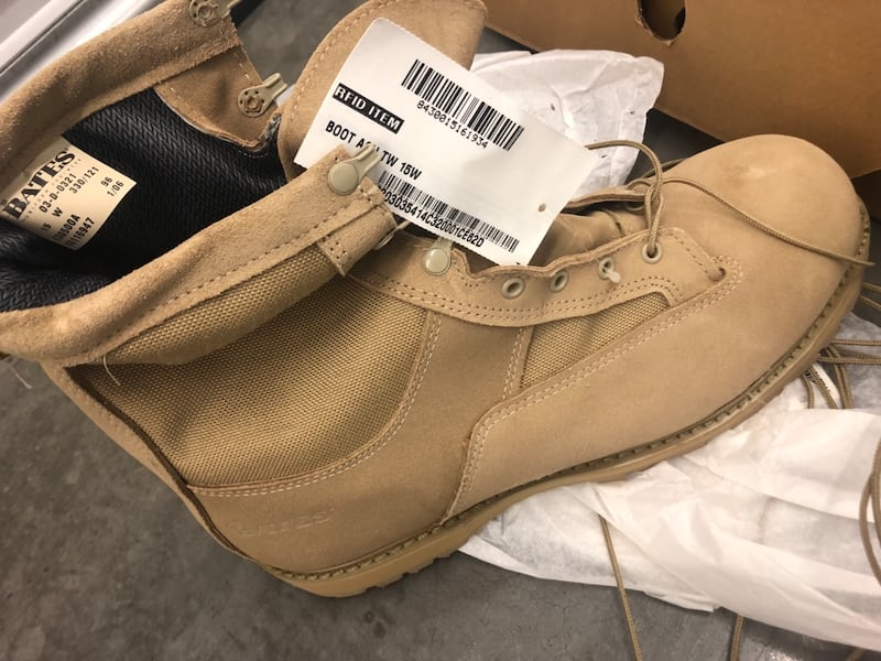 Work Boots, New, size 15W, Bates, save $$$ 1