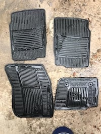 Ford Fusion All Weather Car Floor Mats Colorado Springs, 80918
