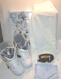 Core Powder Room 5000mm Ski Pants and Roxy Ski Goggles  London