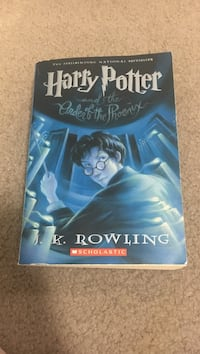 Harry potter by  j.k rowling books Silver Spring, 20906