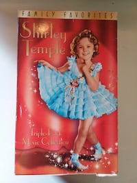 Shirley Temple triple-pack movie collection box Channelview, 77530