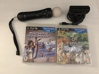 PS3 move wand and camera bundle Innisfil, L9S