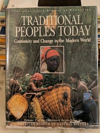 Traditional Peoples Today coffee table book