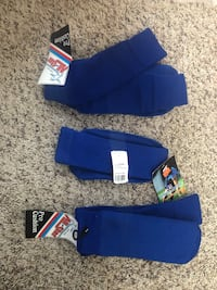 Blue soccer/baseball socks Lexington