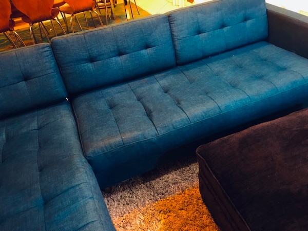 Awe Inspiring Cb2 Ditto Ii Peacock Sectional Sofa Turquoise Blue Pdpeps Interior Chair Design Pdpepsorg
