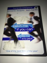 Catch Me If You Can Dvd Movie 2 Disc Set Leonardo Dicaprio Tom Hanks
