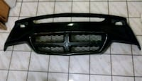 black and gray car grille
