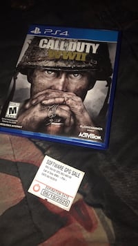 call of duty ww11 with A warranty for a year