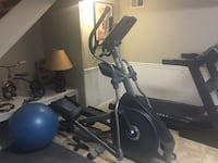 Nautilus Elliptical (5 months old) Paid over $800; asking $400