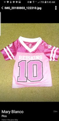 pink and white Nike NFL jersey Woodbridge, 22192