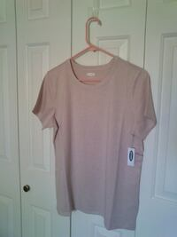 New Pink Slim-Fit Sparkle Knit Top West Springfield