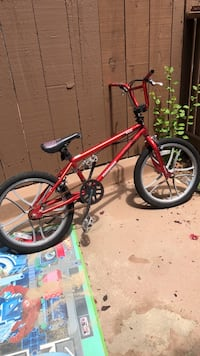 red and black BMX bike Ventura, 93004