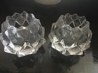 orrefors crystal artichoke voltive holder Essex, 21221