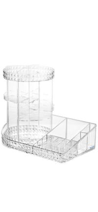 New Large Capacity Cosmetic Organizer, Makeup Storage 360 Rotation