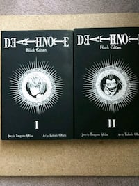 two Deathnote I and II black edition books Chilliwack, V2R 4G1