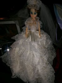 2ft. Tall Bride Doll w/White Lace Dress Quincy, 02169
